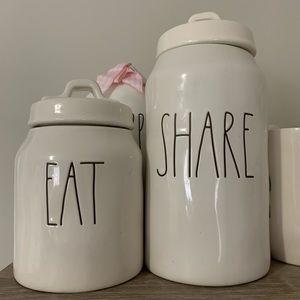 Rae Dunn canister set